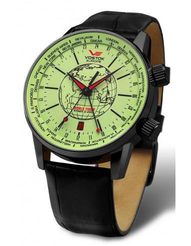 Zegarek automatyczny Vostok Europe GAZ-14 2426-5604240 Worldtimer 338.477375 - 1
