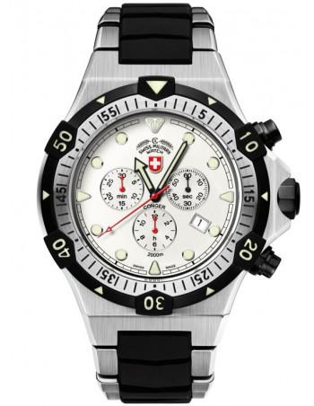 CX Swiss Military 2215 Conger quartz chronograph watch