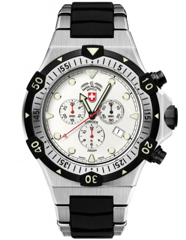 CX Swiss Military 2215 Conger quartz chronograph watch