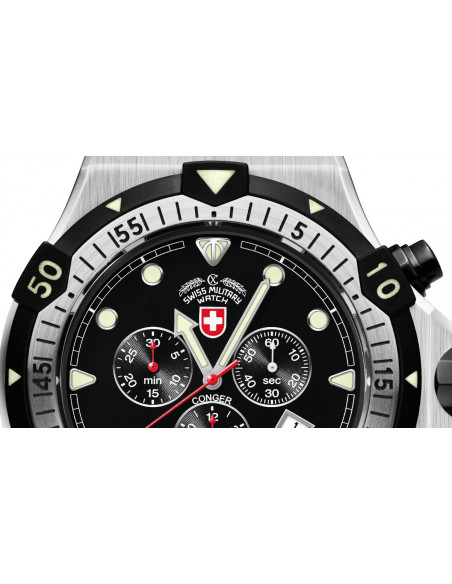 CX Swiss Military 2216 Conger quartz chronograph watch