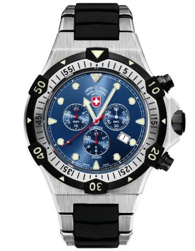 CX Swiss Military 2217 Conger quartz chronograph watch