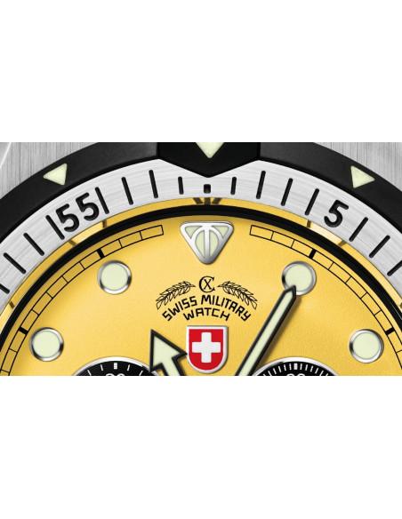 CX Swiss Military 2218 Conger quartz chronograph watch