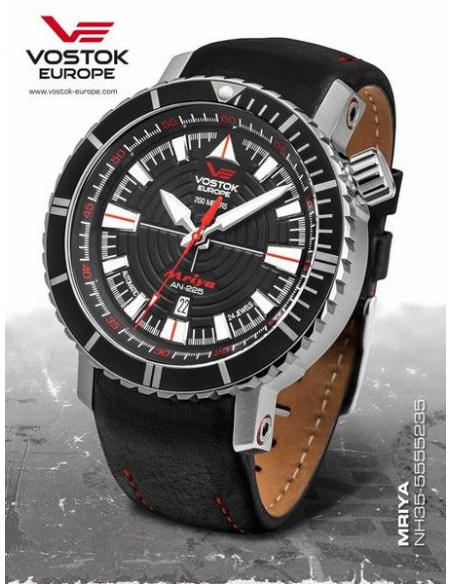 Vostok Europe NH35A-5555235 MRIYA automatic watch 418.358036 - 1