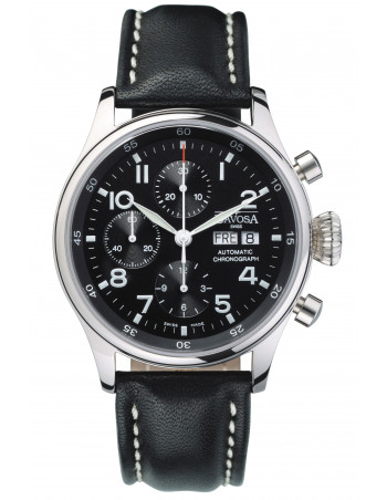 Davosa 161.004.56 Pilot Chronograph watch