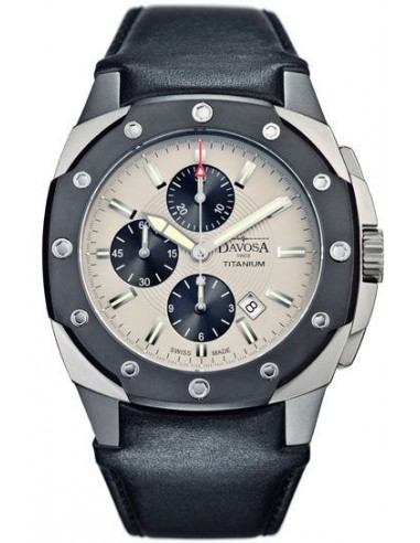 Davosa 161.505.15 Titanium Chronograph watch