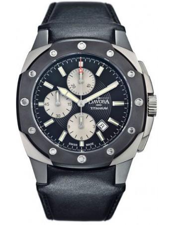 Davosa 161.505.55 Titanium Chronograph watch