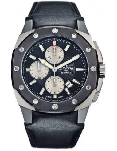 Hodinky Davosa 161.505.55 Titanium Chronograph 1695.38225 - 1