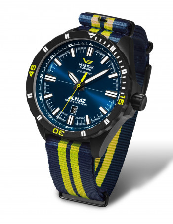 Vostok Europe NH35A-320C257N Almaz automatic watch