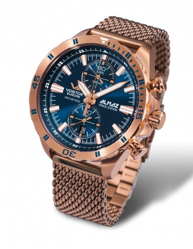 Vostok Europe 6S11-320B262B Almaz chronograph watch