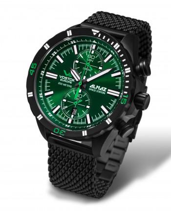 Vostok Europe 6S11-320C261B Almaz chronograph watch