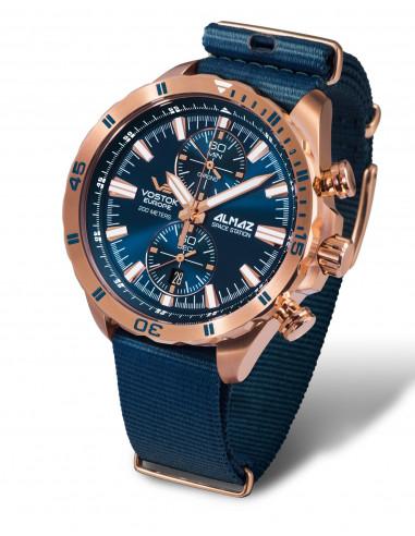 Vostok Europe 6S11-320B262N Almaz chronograph watch