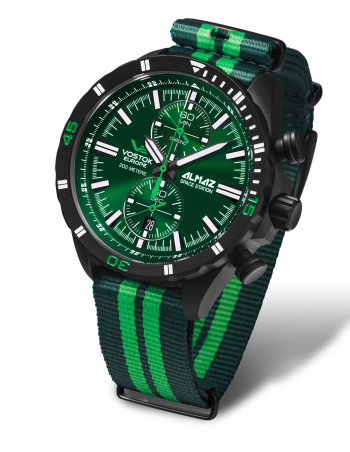 Vostok Europe 6S11-320C261N Almaz chronograph watch