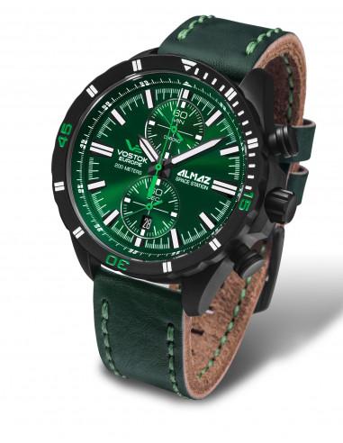 Vostok Europe 6S11-320C261 Almaz chronograph watch