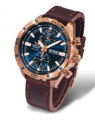 Zegarek chronograf Vostok Europe 6S11-320B262 Almaz 438.319215 - 1