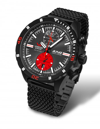 Vostok Europe 6S11-320C260B Almaz chronograph watch
