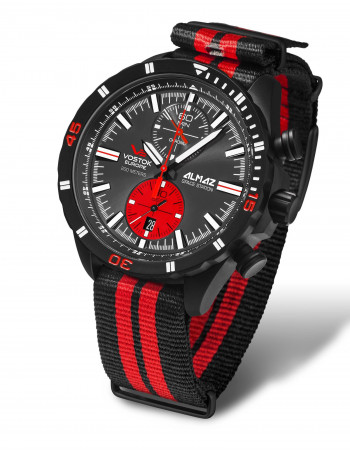 Vostok Europe 6S11-320C260N Almaz chronograph watch