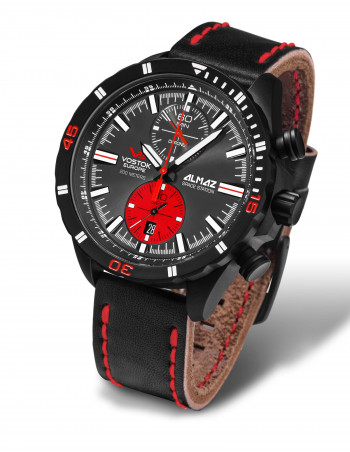 Vostok Europe 6S11-320C260 Almaz chronograph watch