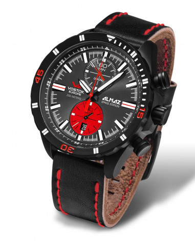 Zegarek chronograf Vostok Europe 6S11-320C260 Almaz 418.358036 - 1