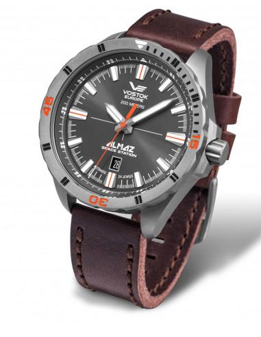 Zegarek automatyczny Vostok Europe NH35A-320H263 Almaz Titanium 383.408 - 1