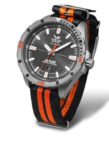 Vostok Europe NH35A-320H263N Almaz Titanium automatic watch