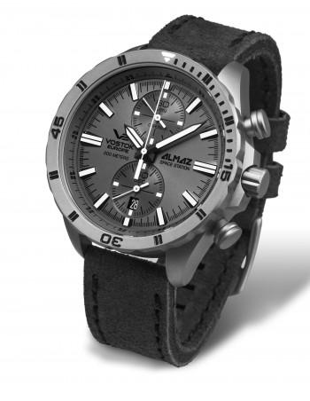 Vostok Europe 6S11-320H264 Almaz Titanium chronograph watch