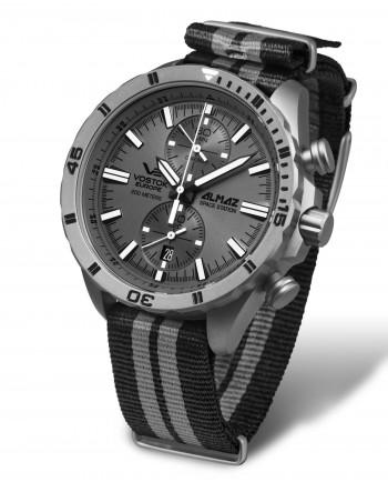 Vostok Europe 6S11-320H264N Almaz Titanium chronograph watch