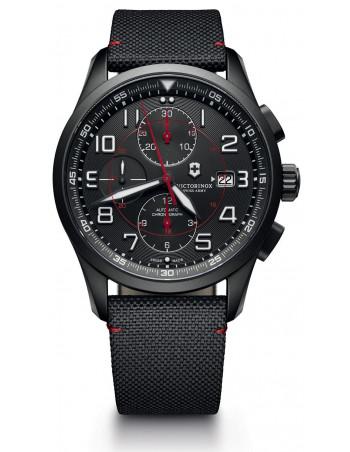 Victorinox 241721 Airboss Mechanical Black Edition Chronograph watch