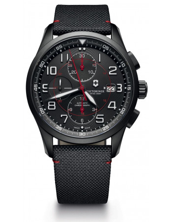 Victorinox 241721 Airboss Mechanical Black Edition Chronograph watch
