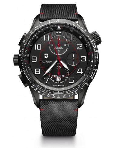 Victorinox 241716 Airboss Mechanical Black Edition Chronograph watch