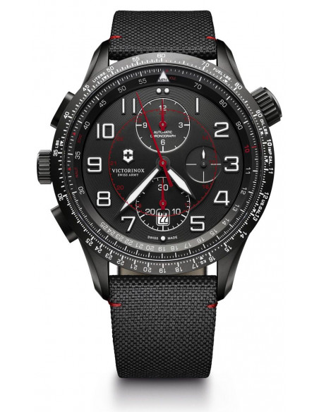 Victorinox 241716 Airboss Mechanical Black Edition Chronograph watch