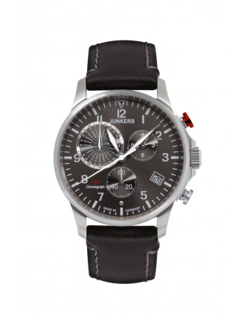 Junkers 6892-2 Worldtimer GMT Chronograph watch