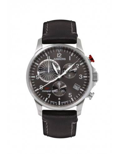 Junkers 6892-2 Worldtimer GMT Chronograph watch