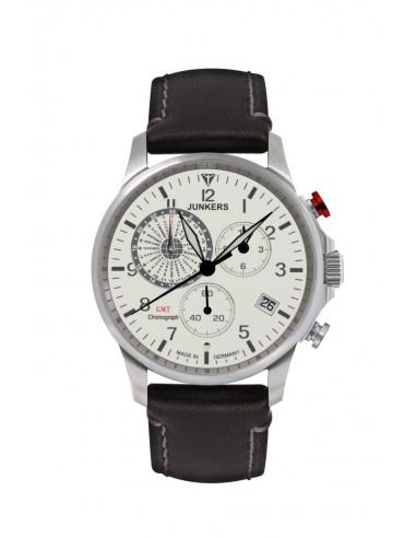 Junkers 6892-5 Worldtimer GMT Chronograph watch