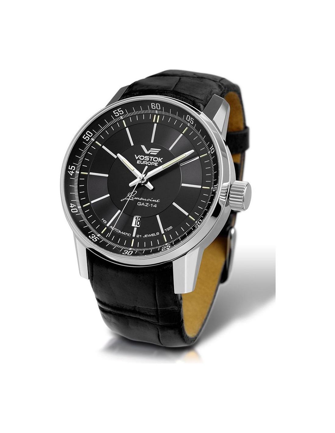 Panske hodinky Vostok Europe NH25A-5651137 Gaz-14 Limousine 6ec554222e7