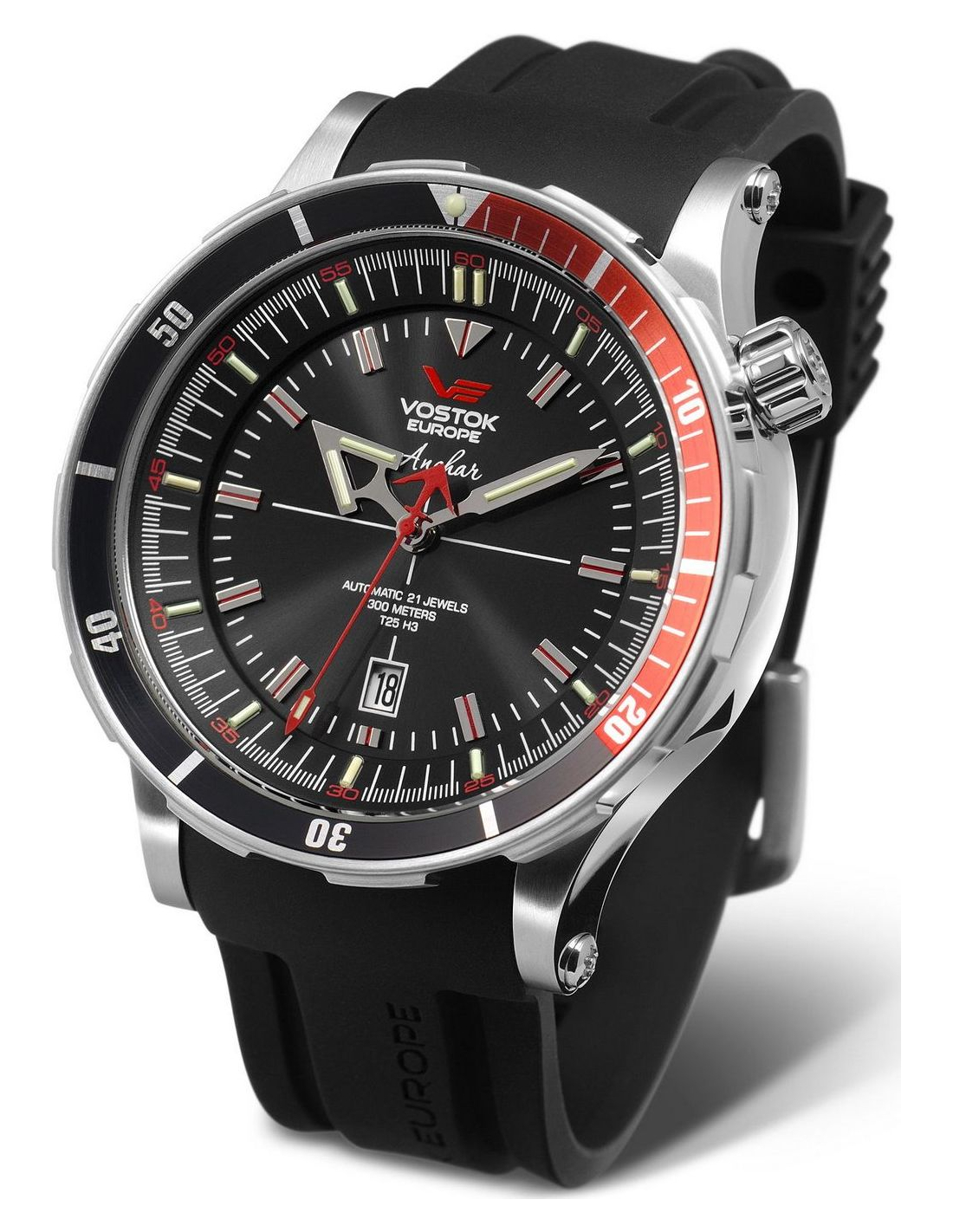Mens Vostok Europe NH25A 5105141 Anchar diver watch 5edc1aa4aa8