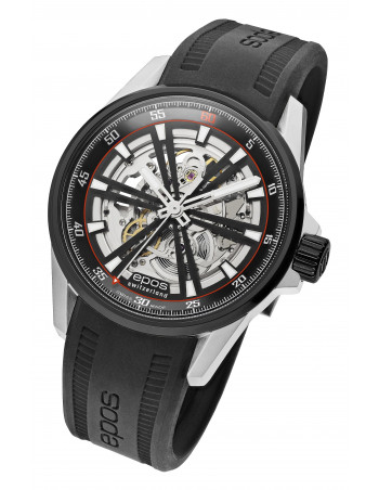 Epos 3425.135.35.15.55 Sportive Skeleton Watch