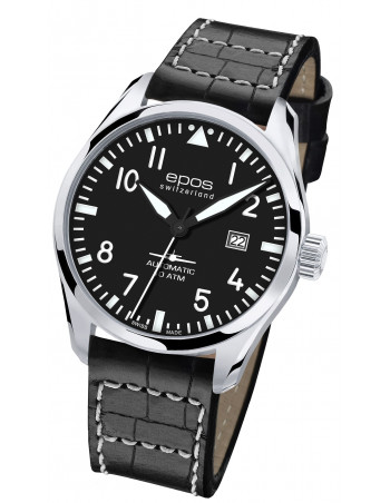 Epos 3401.132.20.35.24 Sportive Pilot Watch