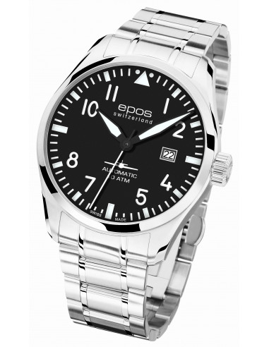 Epos 3401.132.20.35.30 Sportowy zegarek pilotowy 1138.2425 - 1