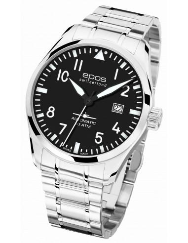 Epos 3401.132.20.35.30 Sportive Pilot Watch
