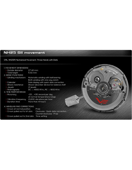 Vostok Europe NH35A/5104142 Anchar diver watch