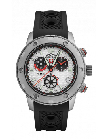 CX Swiss Military 2745 Rallye GMT Watch