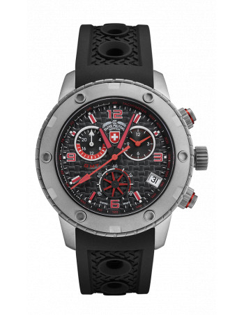 CX Swiss Military 2746 Rallye GMT Watch