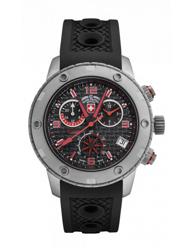 CX Swiss Military 2746 Rallye GMT Watch