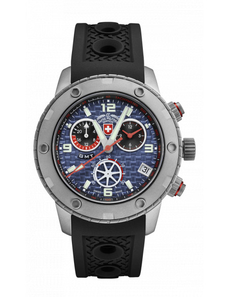 CX Swiss Military 2747 Rallye GMT Watch 791.777458 - 1