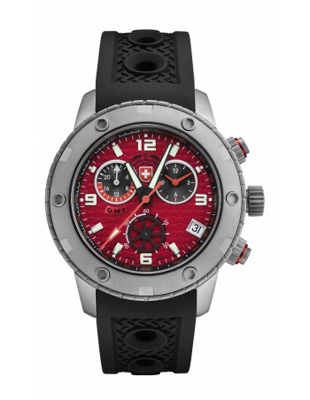 CX Swiss Military 2748 Rallye GMT Watch