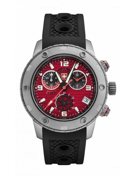 CX Swiss Military 2748 Rallye GMT Watch