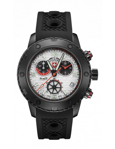 CX Swiss Military 2750 Rallye GMT Nero Watch