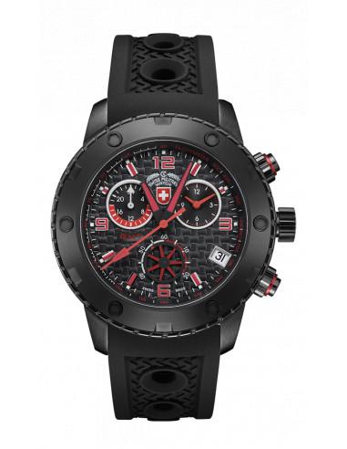CX Swiss Military 2751 Rallye GMT Nero Watch 860.671083 - 1