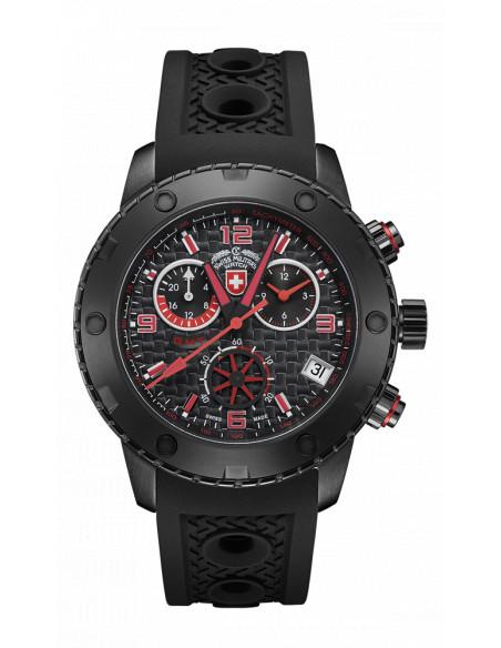 CX Swiss Military 2751 Rallye GMT Nero Watch