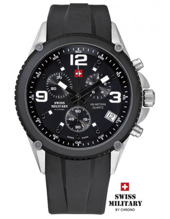 Men's Swiss Military by Chrono 20078-BI-1RUB watch
